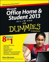 Vignette du livre Microsoft Office Home and Student Edition 2013 All-in-One For Dummies