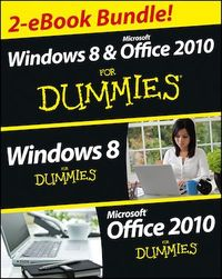 Vignette du livre Windows 8 & Office 2010 For Dummies eBook Set