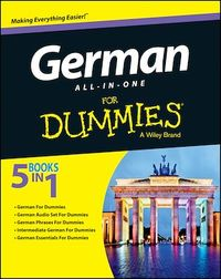 Vignette du livre German All-in-One For Dummies