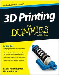 Vignette du livre 3D Printing For Dummies