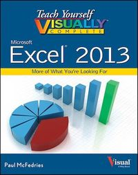 Vignette du livre Teach Yourself VISUALLY Complete Excel