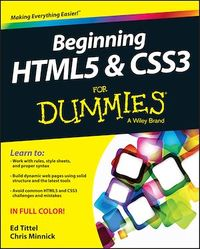 Vignette du livre Beginning HTML5 and CSS3 For Dummies