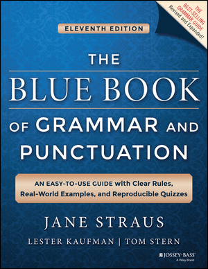 Vignette du livre The Blue Book of Grammar and Punctuation