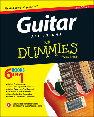 Vignette du livre Guitar All-In-One For Dummies, Book + Online Video & Audio Instruction