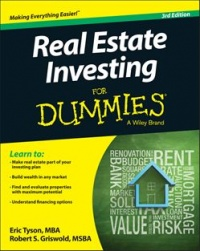 Vignette du livre Real Estate Investing For Dummies