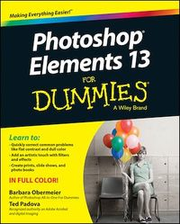 Vignette du livre Photoshop Elements 13 For Dummies