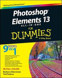 Vignette du livre Photoshop Elements 13 All-in-One For Dummies