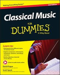 Vignette du livre Classical Music For Dummies