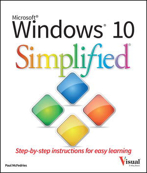 Vignette du livre Windows 10 Simplified