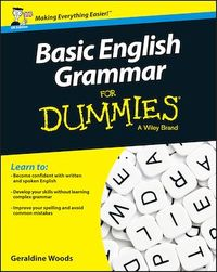 Vignette du livre Basic English Grammar For Dummies - UK