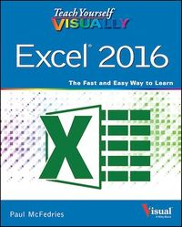 Vignette du livre Teach Yourself VISUALLY Excel 2016