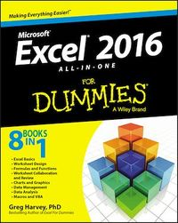 Vignette du livre Excel 2016 All-in-One For Dummies