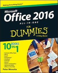 Vignette du livre Office 2016 All-In-One For Dummies
