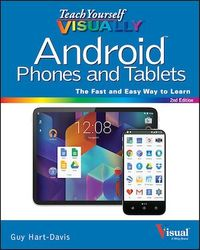 Vignette du livre Teach Yourself VISUALLY Android Phones and Tablets