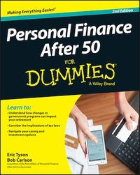 Vignette du livre Personal Finance After 50 For Dummies - Eric Tyson, Bob Carlson