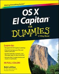 Vignette du livre OS X El Capitan For Dummies