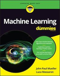 Vignette du livre Machine Learning For Dummies