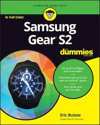 Vignette du livre Samsung Gear S2 For Dummies