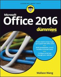 Vignette du livre Office 2016 For Dummies