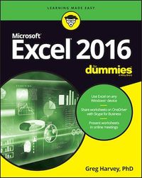 Vignette du livre Excel 2016 For Dummies