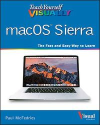 Vignette du livre Teach Yourself VISUALLY macOS Sierra