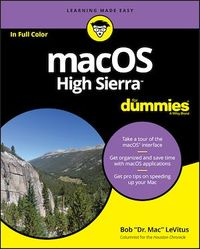 Vignette du livre macOS High Sierra For Dummies