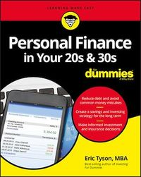 Vignette du livre Personal Finance in Your 20s and 30s For Dummies