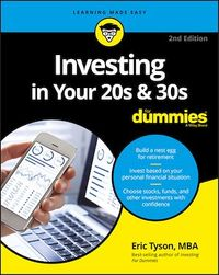 Vignette du livre Investing in Your 20s and 30s For Dummies - Eric Tyson