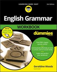 Vignette du livre English Grammar Workbook For Dummies, with Online Practice