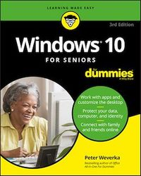 Vignette du livre Windows 10 For Seniors For Dummies
