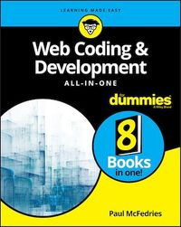 Vignette du livre Web Coding & Development All-in-One For Dummies