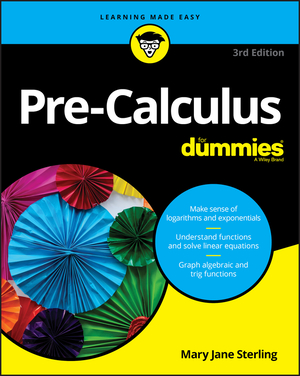 Vignette du livre Pre-Calculus For Dummies
