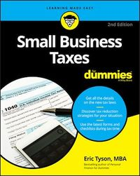 Vignette du livre Small Business Taxes For Dummies