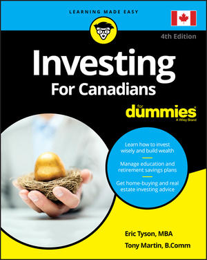 Vignette du livre Investing For Canadians For Dummies