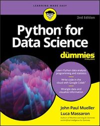 Vignette du livre Python for Data Science For Dummies