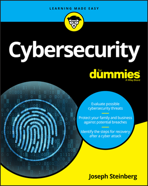 Vignette du livre Cybersecurity For Dummies
