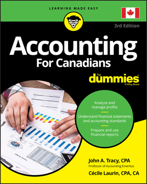 Vignette du livre Accounting For Canadians For Dummies