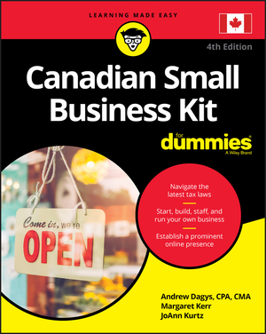 Vignette du livre Canadian Small Business Kit For Dummies