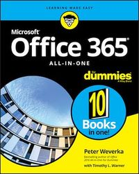 Vignette du livre Office 365 All-in-One For Dummies
