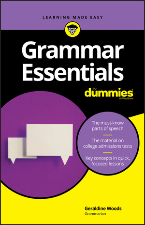 Vignette du livre Grammar Essentials For Dummies