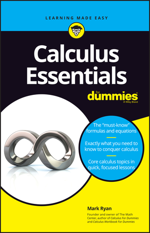 Vignette du livre Calculus Essentials For Dummies