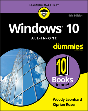 Vignette du livre Windows 10 All-in-One For Dummies