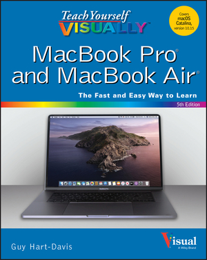 Vignette du livre Teach Yourself VISUALLY MacBook Pro and MacBook Air