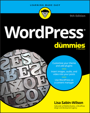 Vignette du livre WordPress For Dummies