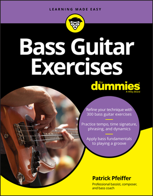Vignette du livre Bass Guitar Exercises For Dummies