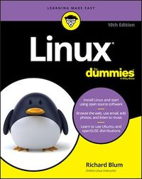 Vignette du livre Linux For Dummies