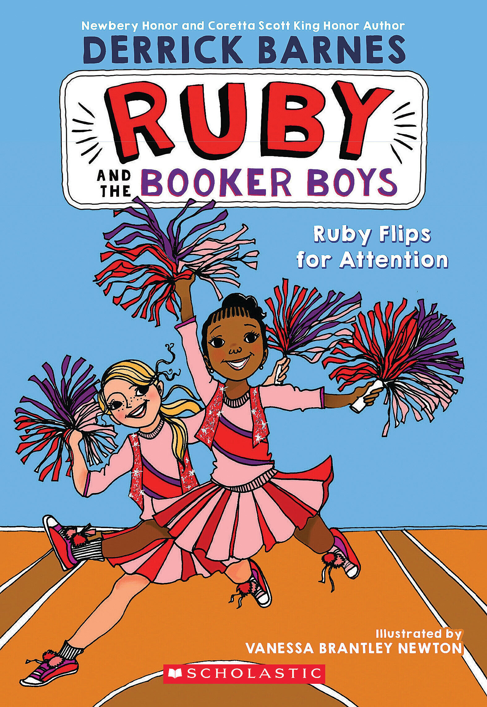 Vignette du livre Ruby Flips For Attention - Derrick Barnes