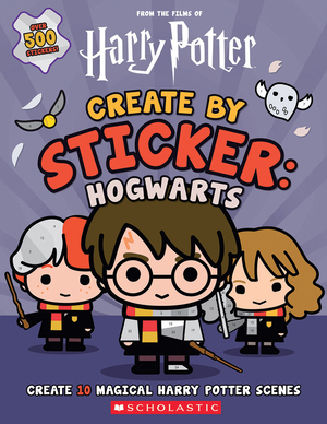 Vignette du livre Harry Potter: Create by Sticker: Hogwarts