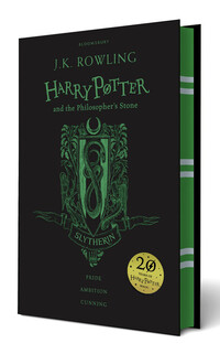 Vignette du livre Harry Potter and the Philosopher's Stone - Slytherin Edition