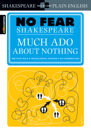 Vignette du livre Much Ado About Nothing (No Fear Shakespeare)